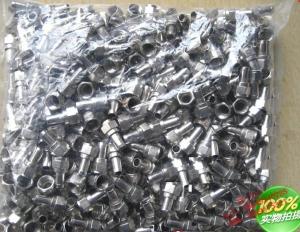 公制75-5F头 直插式镀镍材料带紧箍咒100个价格