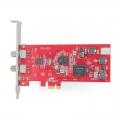 TBS6903专业级卫星数据接收卡DVB-S2双Tuner输入PCIe高清数字电脑电视卡