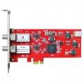 TBS6902电脑2-Tuner输入PCIe高清卫星数字电视接收卡