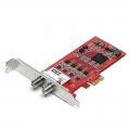 TBS6514DTMB/DVB-C4路输入PCIE接口电脑电视卡调谐器录刻TS流