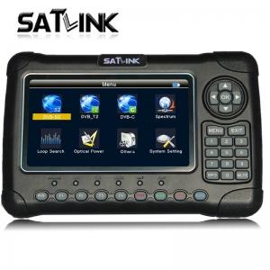 Satlink WS-6980 DVB-S2/C/T2 satellite finder频谱分析寻星仪